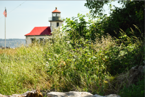 Point Robinson Lighthouse on Vashon Island CancerRoadTrip