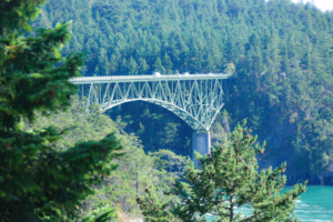 #Whidlbey #Island #PugetSound #water #DecptionPass #Bridge CancerRoadTrip Cancer Road Trip Whidbey Island