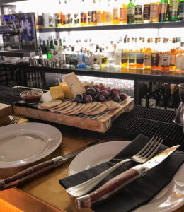 Food is served at the Celtic Irish Whiskey Bar in Killarney Ireland.