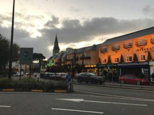Buildings in downtown Killarney