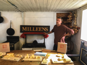 Milleen's Cheese, Milleen's, Beara Peninsula tourism, Beara peninsula map