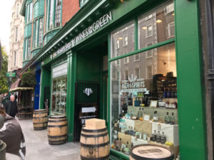 Irish Whiskey shop Dublin