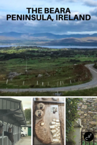 Beara Peninsula tourism, Beara peninsula map, Ireland, CancerRoadTrip