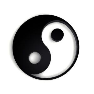Buddist yin and yang