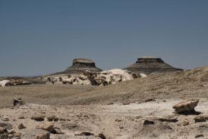 Mesas, buttes and badlands CancerRoadTrip Bisti-Wilderness-NM