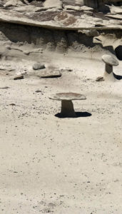 Mesa Buttes and Badlands CancerRoadTrip Camping Chaco Canyon and Bisti-Wilderness-NM