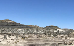 Mesa Buttes and Badlands CancerRoadTrip Camping Chaco Canyon and Bisti Wilderness NM