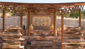 CancerRoadTrip Botanical Garden in Santa Fe
