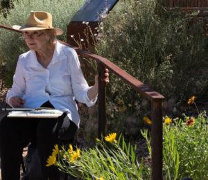 Botanical Garden in Santa Fe CancerRoadTrip
