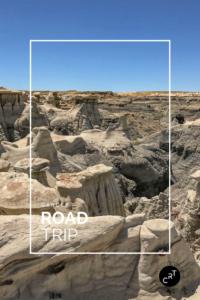 Mesa buttes badlands hoodoos CancerRoadTrip Bisti Wilderness