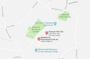 CancerRoadTrip Museum Hill Santa Fe NM