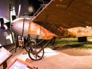 Italian monoplane, WWI vintage