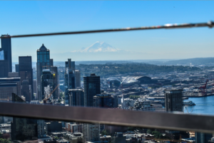#CancerRoadTrip #Ranier #Seattle #SpaceNeedle