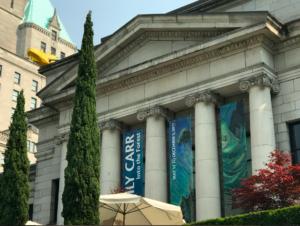 #CancerRoadTrip #Vancouver Vancouver Art Gallery