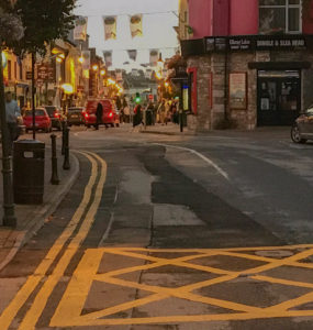 Killarney Ireland Main Street in the evening