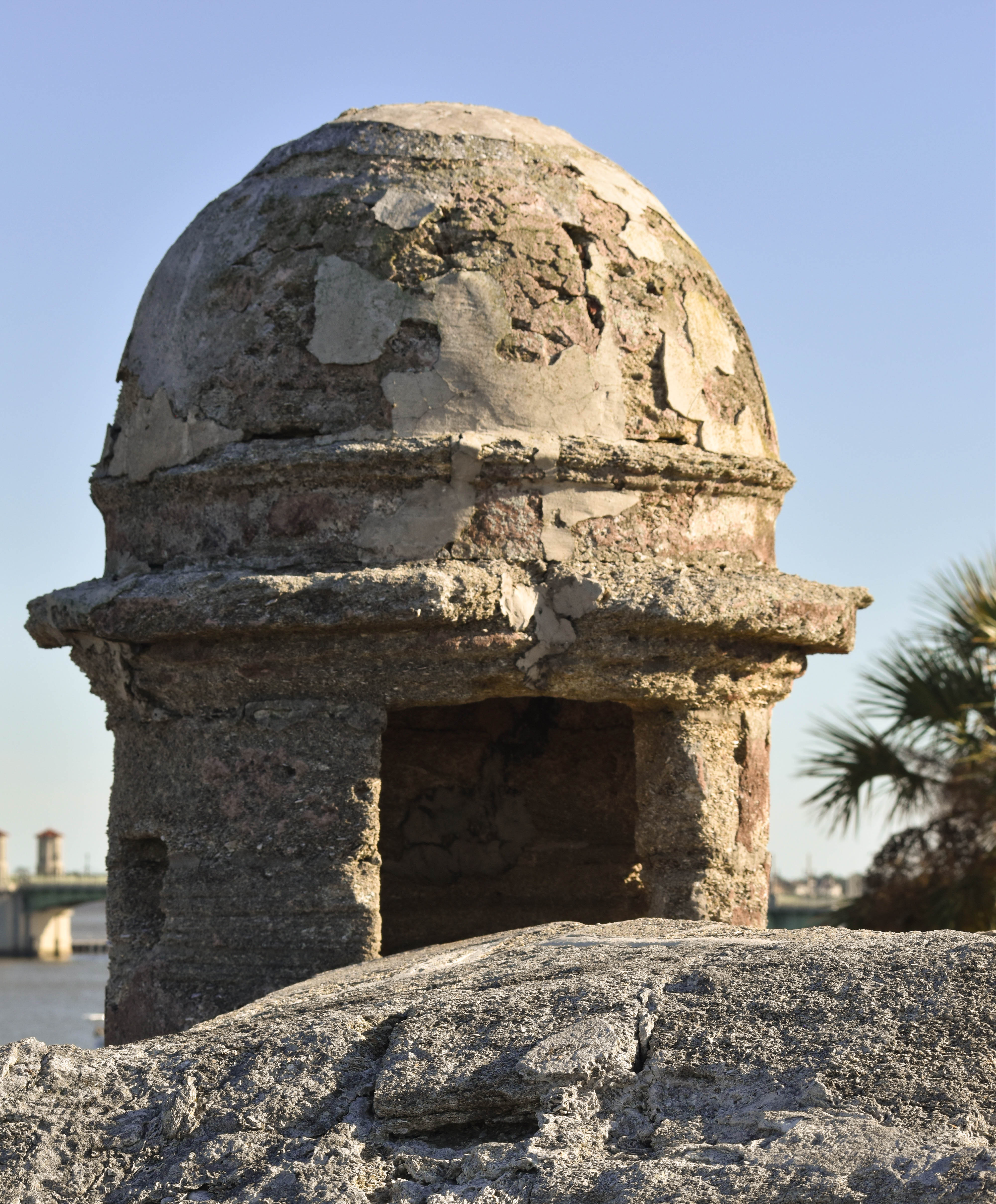 Detail of Castillo de San Marcos, St. Augustine, FL