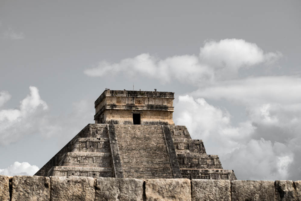 The Mayan Ruins of Chichen Itza and Chaccoben