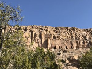 Santa Clara Pueblo: Cliffs, Pottery and Art