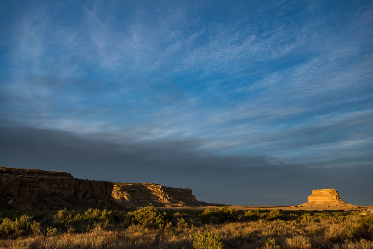 Photographing Chaco Canyon