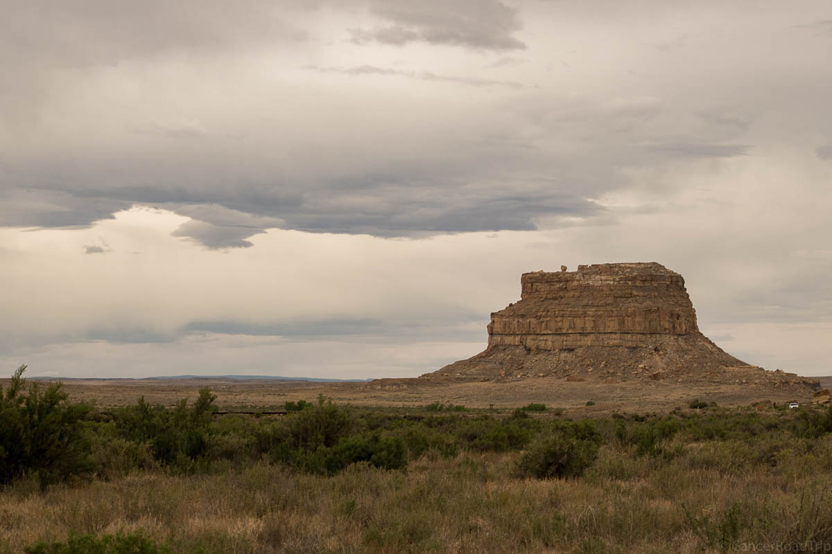 Mesa Buttes and Badlands CancerRoadTrip Camping Chaco Canyon and Bisti Wilderness