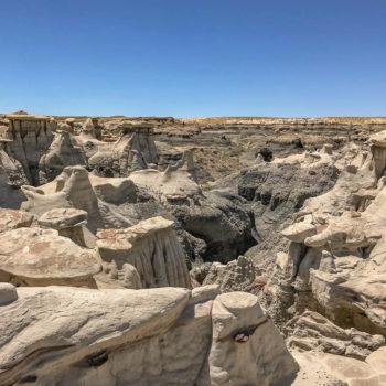 Mesa Buttes and Badlands CancerRoadTrip Bisti-Wilderness-NM