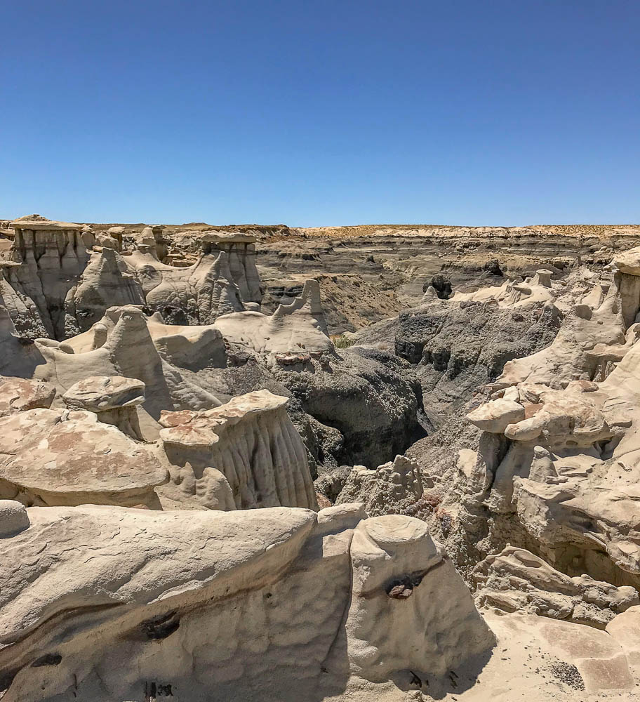Visiting the Hoodoos of Bisti/De-Na-Zin Wilderness