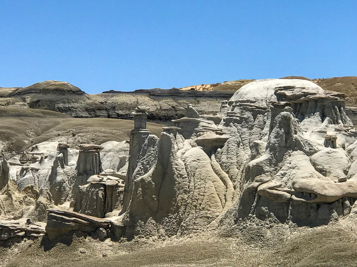 The Mesas, Buttes and Badlands of Bisti Wilderness