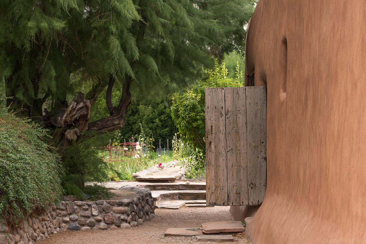 CancerRoadTrip O'Keeffe house in Abiquiu