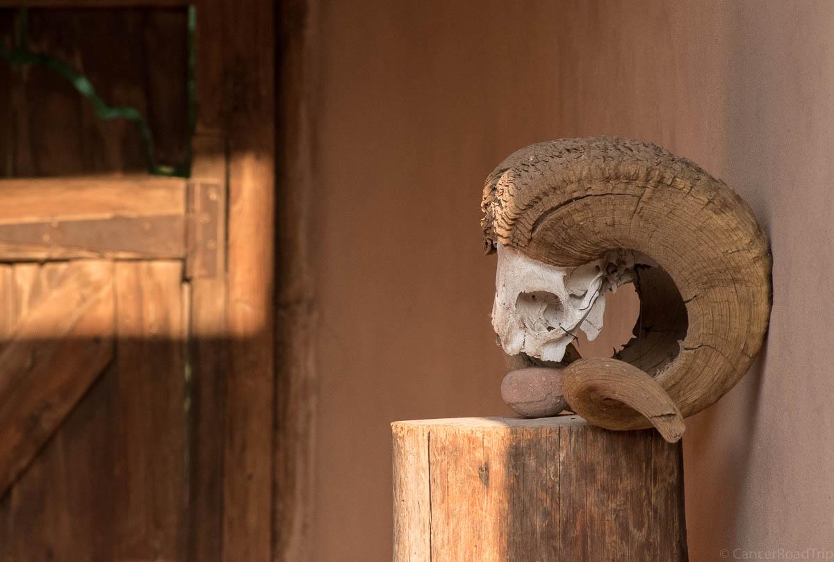 O'Keeffe house in Abiquiu