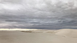 CancerRoadTrip White Sands, NM