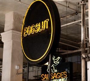 NATJA, DTLA, LA, Grand Central Market, EggSlut