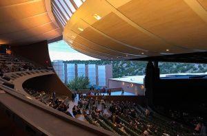 Santa Fe opera season, opera house Santa Fe
