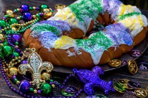 King Cake, Mardi Gras, CancerRoadTrip