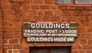 Goulding's Trading Post, Monument Valley