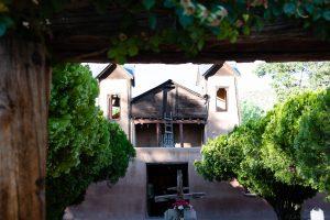 Church at Chimayo, High Road to Taos