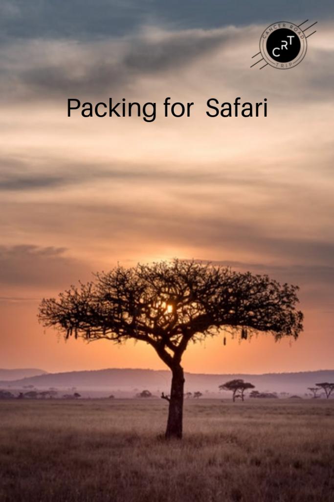 Safari clothes; safari clothing