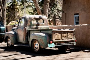 Old truck, Santa Fe historic district