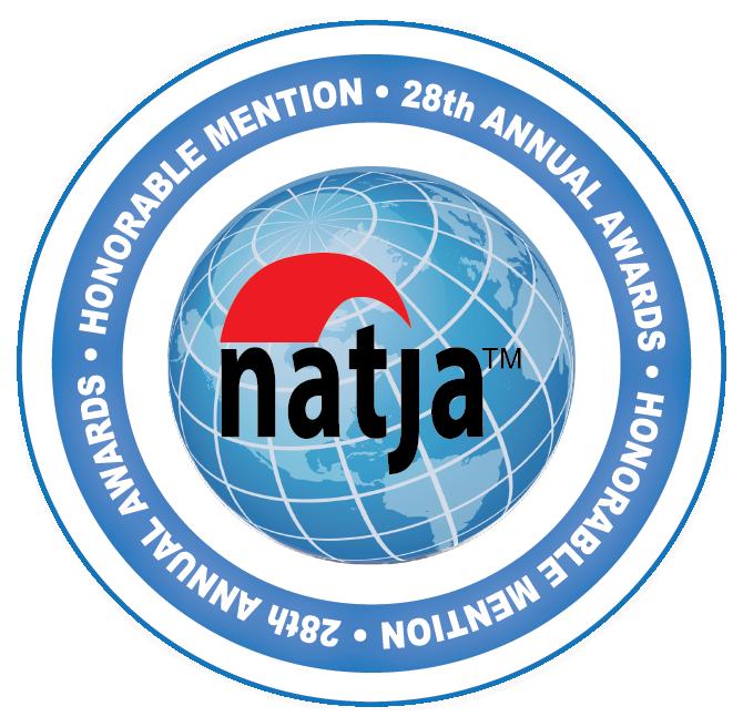 CancerRoadTrip, NATJA Award